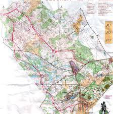 Distance Map Eva Jurenikova Orienteering U0026 Adventure Racing