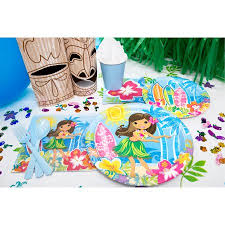 party supplies hula party supplies walmart