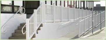 Handicap Handrail Rdi Railing Products Dennisville Fence