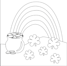 st patrick u0027s day coloring pages and activities for kids