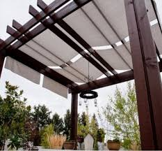pergola design ideas pergola covers fabric simple and varnished