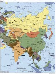 West Asia Map by Geography