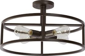 Semi Flush Mount Brayden Studio Sargeant 4 Light Semi Flush Mount U0026 Reviews Wayfair