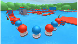 wipeout obstacle course roblox
