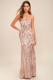 bariano dress gold dress sequin dress maxi