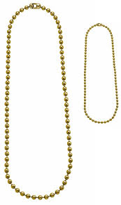 tag chain necklace images Gold military dog tag chain set 4 5 quot 24 quot jpg