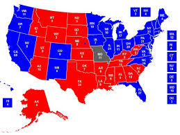 map of us states political science media centre archive state blue state rich dave