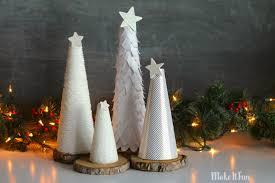 make it fun blog white christmas trees u2013 4 ways