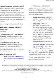 getting a trial date in cowlitz county pdf