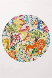 Kids Jungle Rug Dream Menagerie Rug Multi From Anthropologie