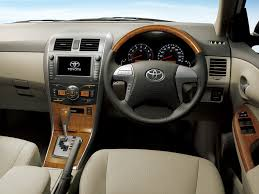 toyota corolla axio 1 8 2009 auto images and specification