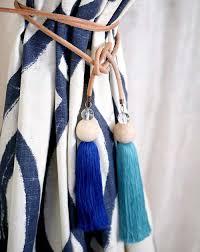 Drapery Tassel Tiebacks Diy Tassel Curtain Tie Backs U2013 Design Sponge