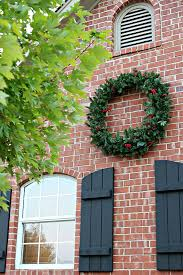 lighted christmas wreaths for windows christmas mailbox decorations burlap and greenery