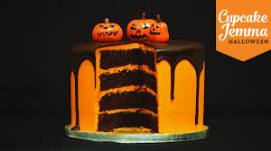 Cake Recipes For Halloween Halloween Special Chocolate Orange Layer Cake Cupcake Jemma