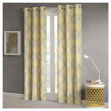 Sheer Yellow Curtains Target Grey And Yellow Curtains Target