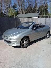 peugeot 206 cc peugeot 206 cc allure convertible 1 6cc 1 years mot low miles 60 k