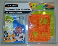 fiskars shape cutter templates ebay
