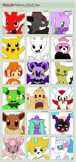 Pokemon Type Meme - favorite pokemon type meme by soulevar421 on deviantart