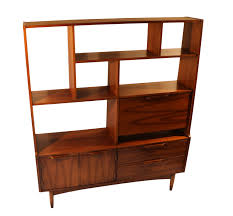 modern room dividers mid century modern room divider bookcase hutch
