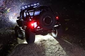jeep rock crawler rc uf 7 off road rock crawler deluxe light package