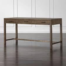 Sofa Table Crate And Barrel Oak Park Ii Desk Crate And Barrel
