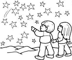 the star coloring pages boy and look 597405 coloring pages