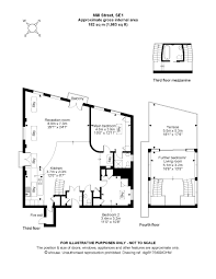 Floor Plan Of A Warehouse by Classic Docklands Warehouse Loft London Lofts