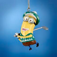despicable me minion ornament found at target my ornament