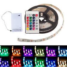 Led Strip Lights Battery Powered Led Light With Battery Ebay
