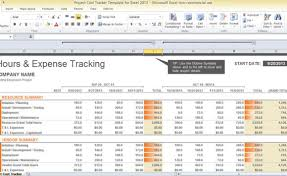 project finance template excel project cost tracker template for
