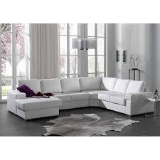 canape angle avec meridienne canapé d angle avec méridienne gauche en simili cuir blanc