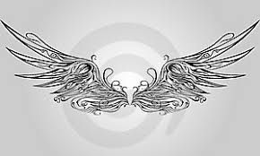 wings want this as a on back need the courage to go
