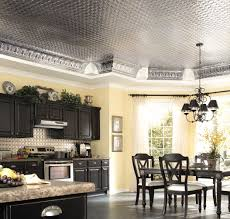 awesome grey paint decorative ceiling tiles with bright borders