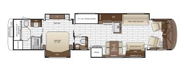 Bunkhouse Floor Plans by King Aire Floor Plan Options Newmar