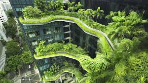 buildings that blend with nature why singapore has them in