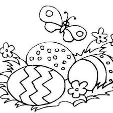 free easter eggs template coloring decorating craft