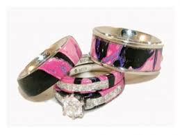 pink camo wedding rings jewelry rings pink camo wedding rings for with real