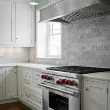 Carrara Marble Countertops Design Ideas - Carrara backsplash