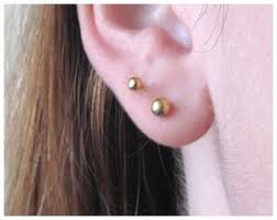 starter earrings s ear piercing grimball jewelers