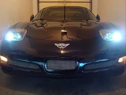 corvette headlight conversion c5 corvette 1997 2004 fixed c5 r style headlight pair corvette mods