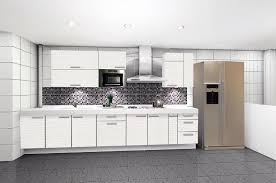 Modern White Kitchen Designs White Kitchen Cabinets Contemporary Modern Recous 493x740