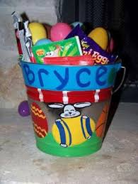 painted easter buckets diy personalized easter buckets with metal paint cans at home
