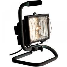 500 watt halogen light ip54 rated black 500 watt portable halogen enclosed floodlight
