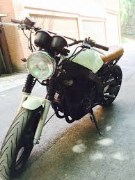suzuki gs 500 cafe racer by mopako motorcycles pinterest