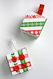 recycled gift box ornaments thanks to starbucks mod podge rocks
