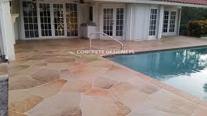 Resurface Concrete Patio Pool Deck Resurfacing