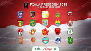 Jadwal Piala Presiden 2018 Jadwal Lengkap Pertandingan Grup C Piala Presiden 2018 Indonesia