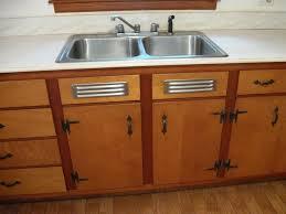 kitchen sink cabinets stash of nos kitchen sink cabinet vents made by washington steel