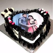 photo cake heart shape chocolate flavour photo cake 100 smile guarantee