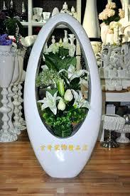 White Ceramic Floor Vase White Ceramic Floor Vase U2013 Laferida Com